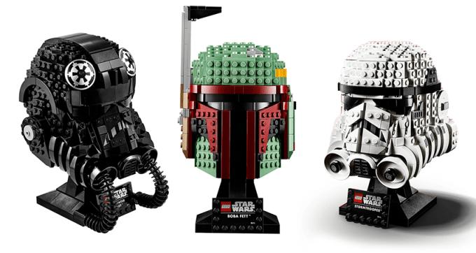 Kolekcja hełmów z serii LEGO® Star Wars™