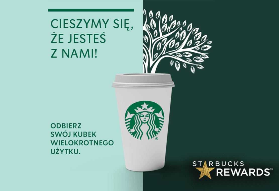 Kubek wielokrotnego użytku Starbucks