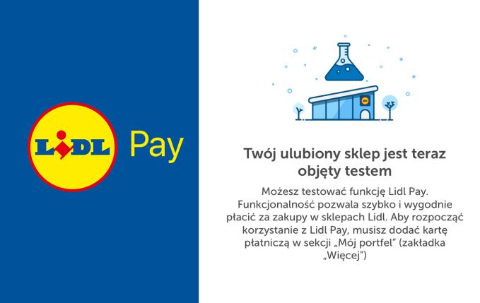 Lidl Pay - testy w sklepach