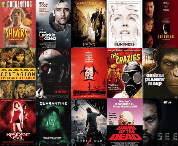 9 najlepszych filmów o pandemii na VOD