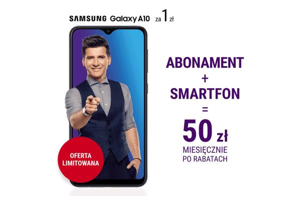 Abonament i smartfon w Play za 50 złotych miesięcznie