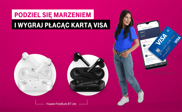 """Konkurs """"Marzenia zT-Mobile iVisa"""" z codziennymi nagrodami"""