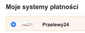 System płatności Przelewy24 - wybór w Amazon.de