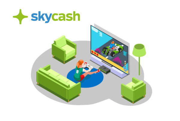 W SkyCash doładujesz także konta w serwisach rozrywkowych