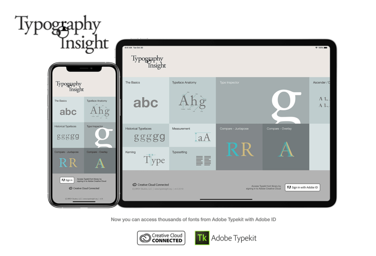 Aplikacja Typography Insight