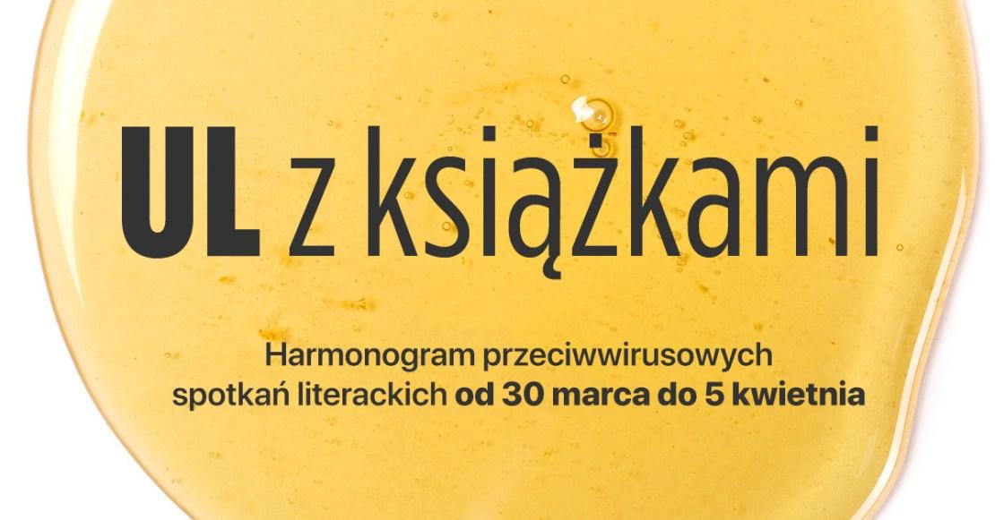 UL z książkami – harmonogram od 30 marca do 5 kwietnia 2020 r.