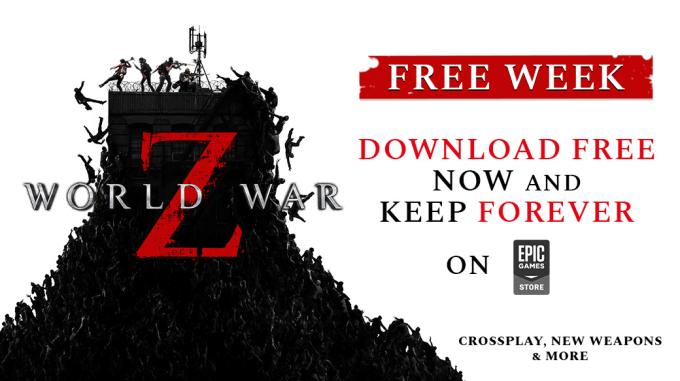 """Gra """"World War Z"""" dostępna do pobrania za darmo na Epic Games"""