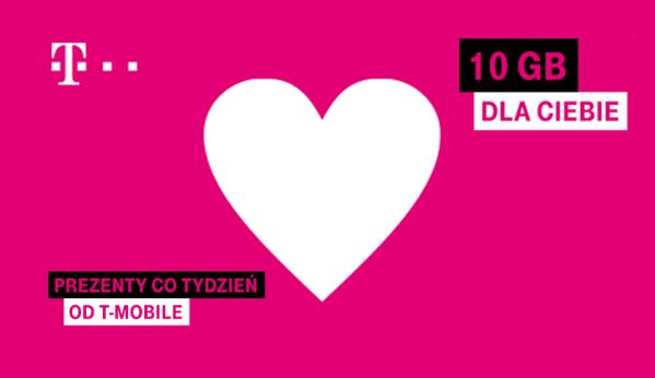 Kolejne 10 GB dla klientów T-Mobile do 5 kwietnia