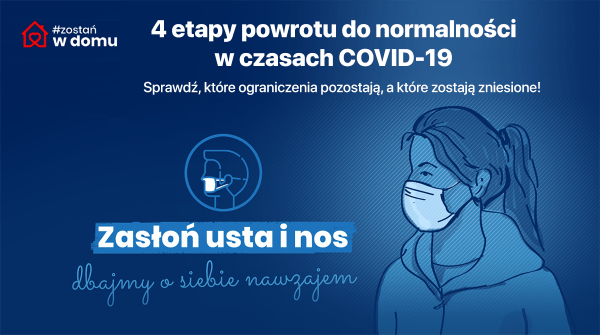 Od 20 kwietnia powoli wracamy do normalności w czasach COVID-19
