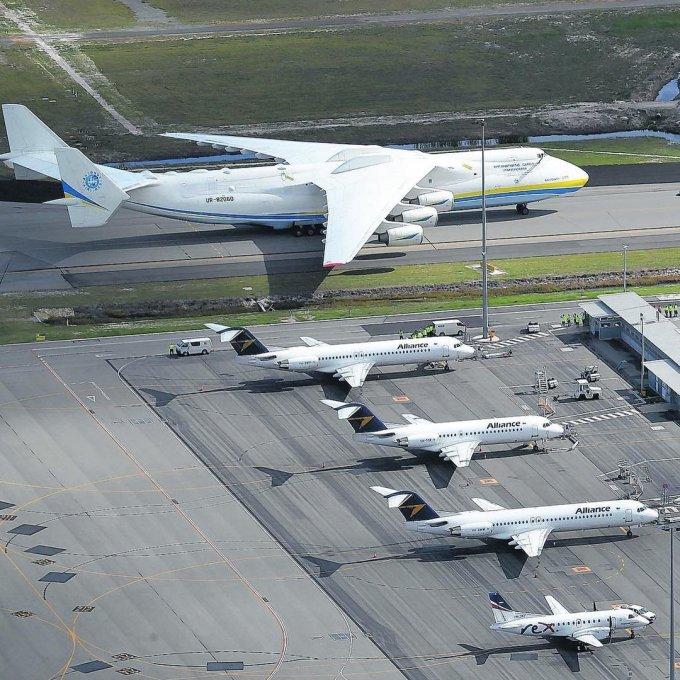 Antonov An-224 Mriya w porównaniu ze standardowymi samolotami pasażerskimi