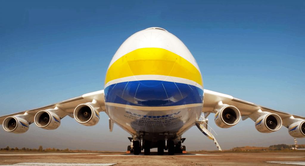 Antonow An-225-Mrija (przód)
