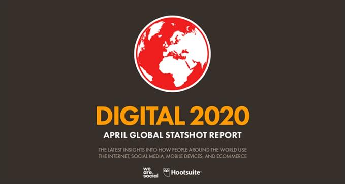Digital, mobile i social media na świecie w 1 kwartale 2020 roku (kwiecień 2020 r.)
