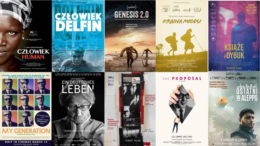 Plakaty wybranych filmów  z DOCS AGAINST GRAVITY (cz. 1)