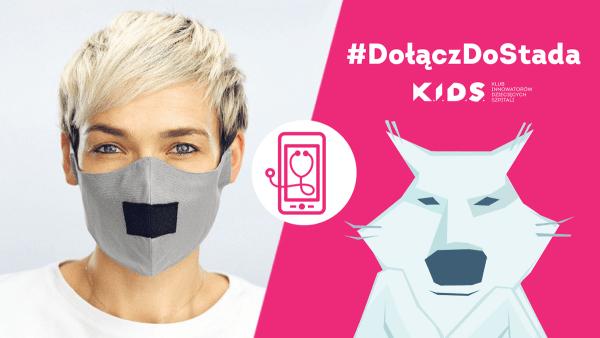 Załóż maskę wilka i #DołączDoStada K.I.D.S.