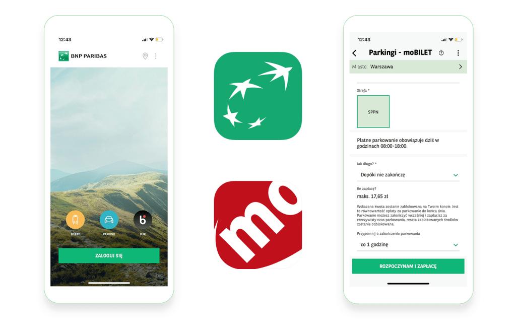moBILET w aplikacji GoMobile od BNP Paribas