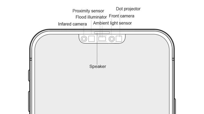 Koncepcja wycięcia w nowym iPhonie 12 Pro 5G z 2020 roku