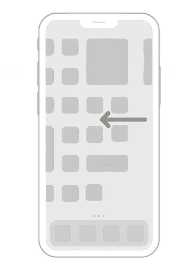 projekt działania widgetów w systemie iOS 14 (iPhone 12 Pro)