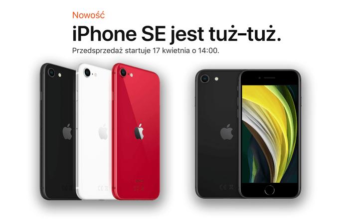iPhone SE 2. generacji (oficjalnie od 17 kwietnia 2020 r.)