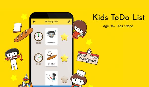 """""""Kids ToDo List"""" – obrazkowa lista zadań dla dzieci"""