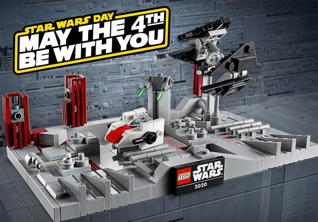 May The 4th Be With You – LEGO Star Wars