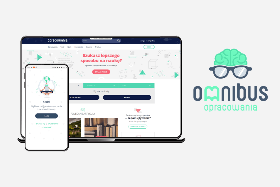 Aplikacja edukacyjna Omnibus dla dzieci i młodzieży