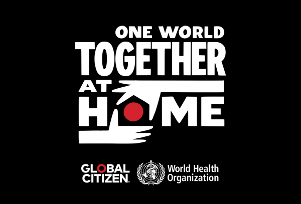 "Oglądaj wirtualny koncert na żywo""One World: Together At Home"""
