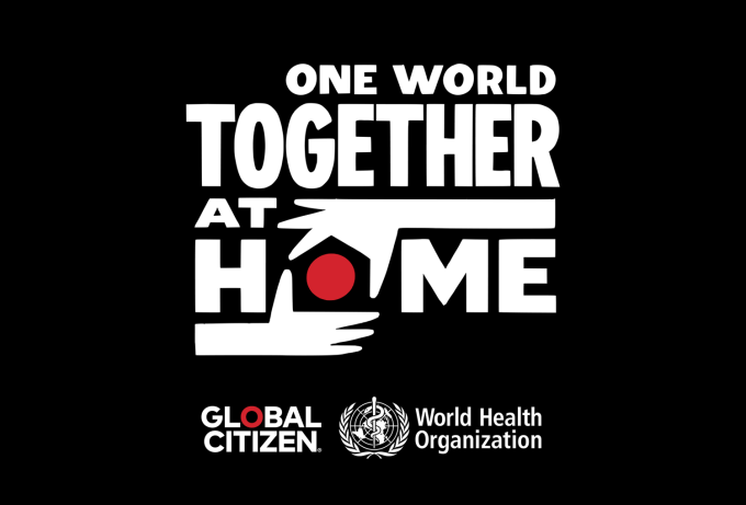 One World: Together at Home (logo)