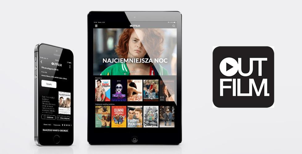 Aplikacja mobilna Outfilm – filmy i seriale LGBTQ+ na VOD