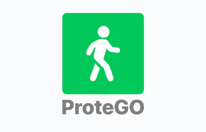 Logo aplikacji rządowej ProteGO