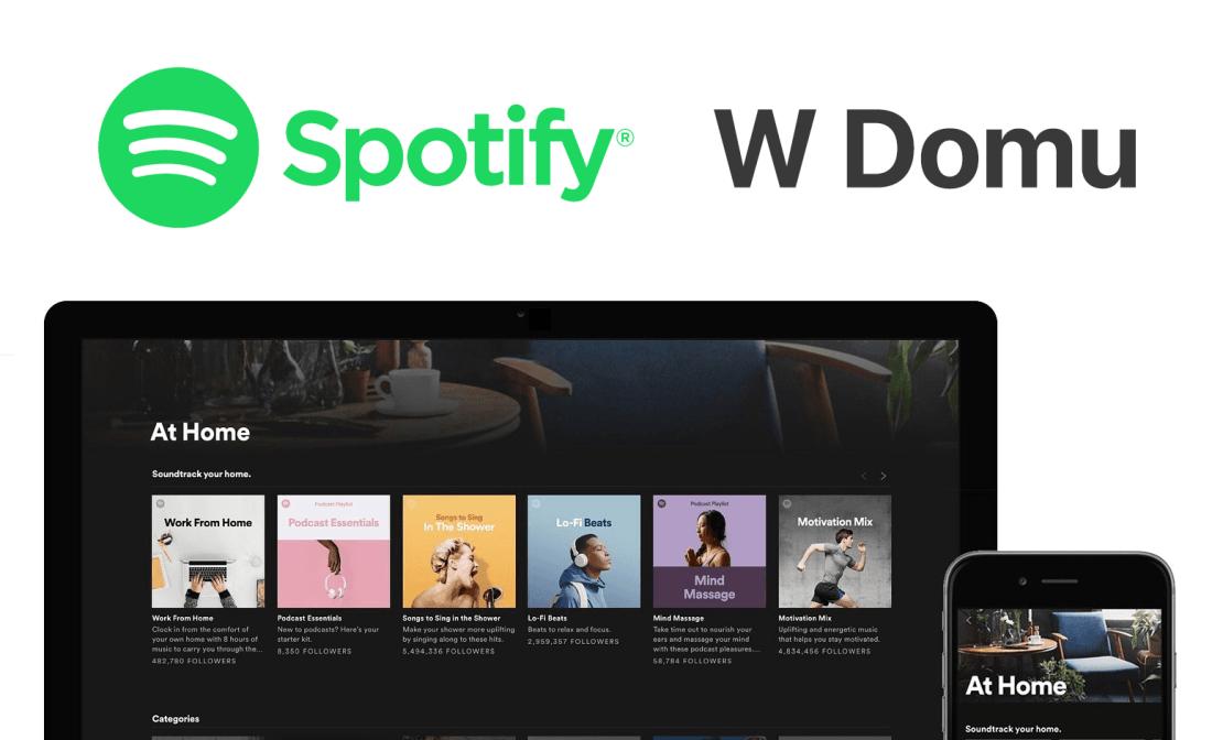 Spotify W Domu