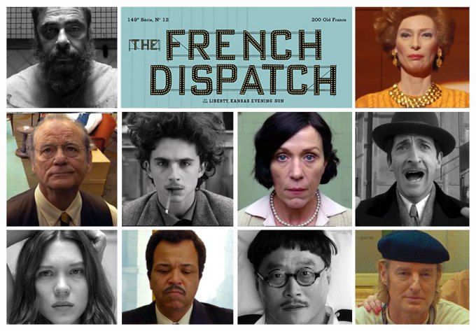 "Film ""The French Dispatch"" Wes Anderson (2020)"