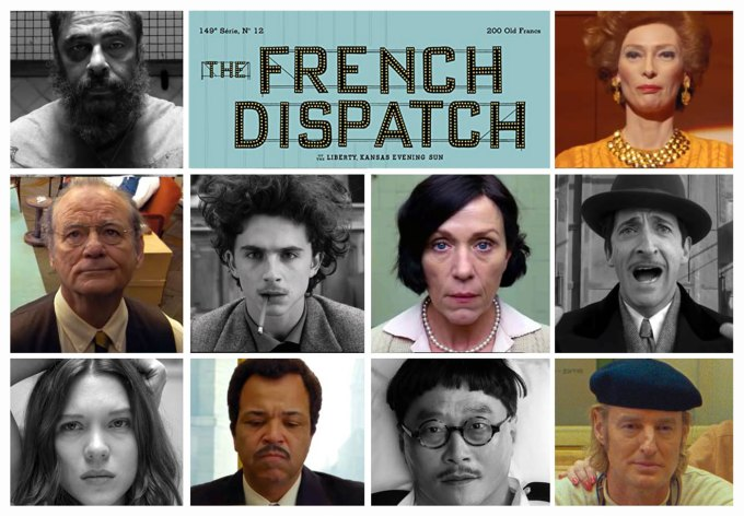 """Film """"The French Dispatch"""" Wes Anderson (2020)"""