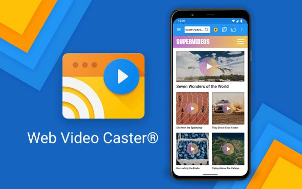 Web Video Cast może przesyłać strumieniowo filmy z Androida i iOS-a na telewizor
