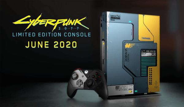 Xbox One X Cyberpunk 2077 pojawi się w czerwcu!