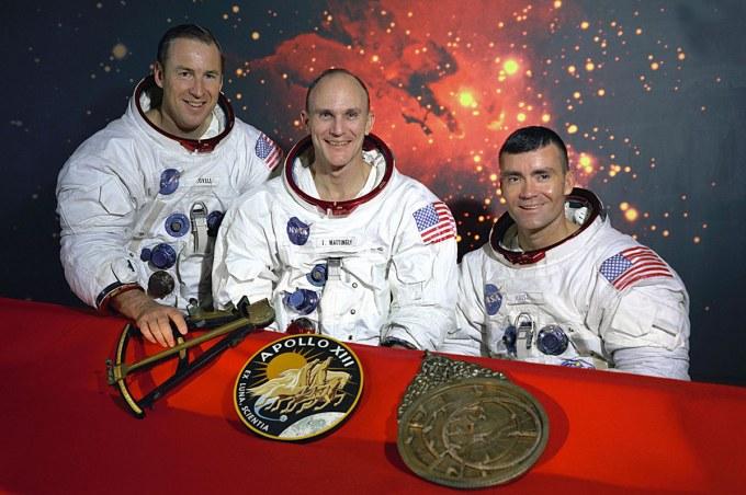 Oryginalna załoga misji Apollo 13