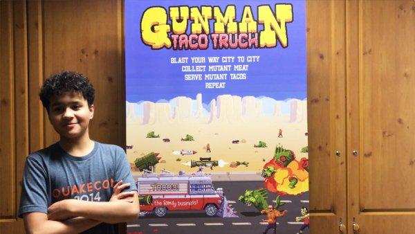 Poznaj Donovana, nastoletniego projektanta gier mobilnych!