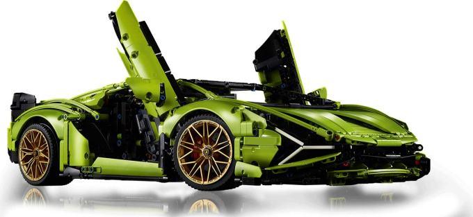 LEGO® Technic™ Lamborghini Sián FKP 37 z otwartymi drzwiami