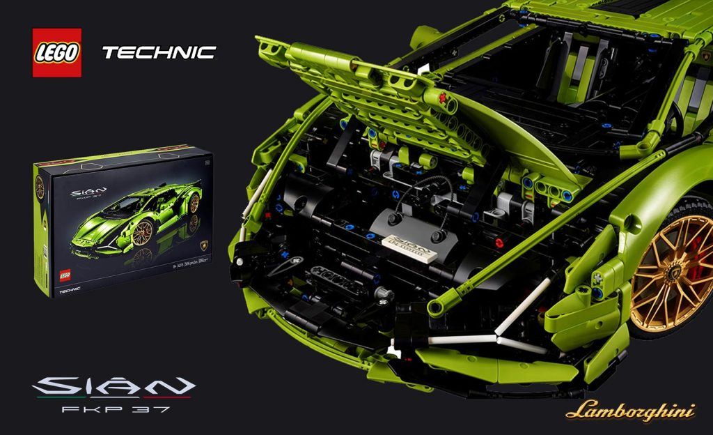 LEGO® Technic™ Lamborghini Sián FKP 37
