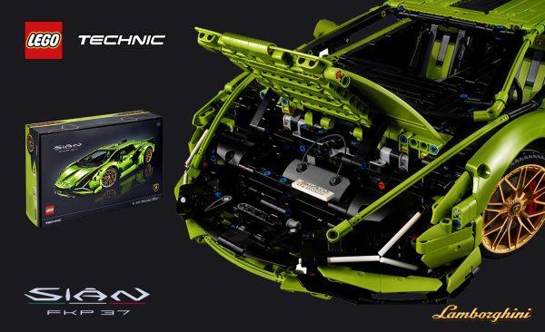 LEGO® Technic™ Lamborghini Sián FKP 37 – jak prawdziwy!