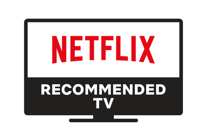 Netflix Recommended TV (logo/badge)