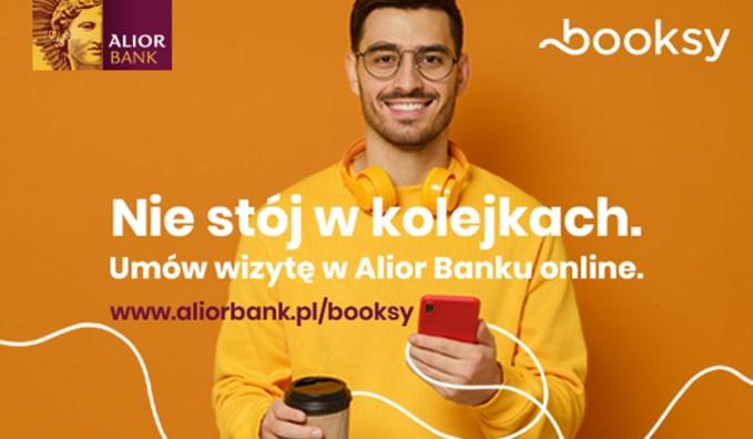 Umawianie wizyt w oddziałach Alior Banku przez Booksy