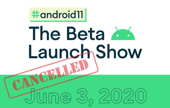 Anulowane wydarzenie #Android11: The Beta Launch Show z 3 czerwca 2020 roku