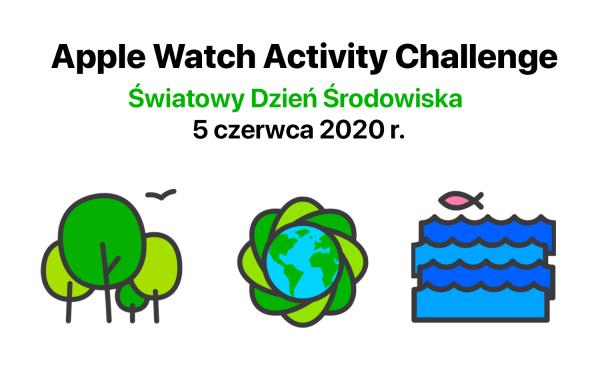 Apple Watch Activity Challenge na Światowy Dzień Środowiska w czerwcu!