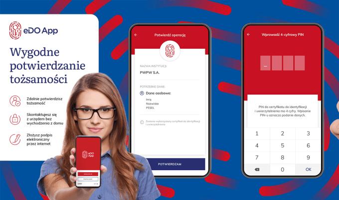 Aplikacja służąca do potwierdzania tożsamości eDO App
