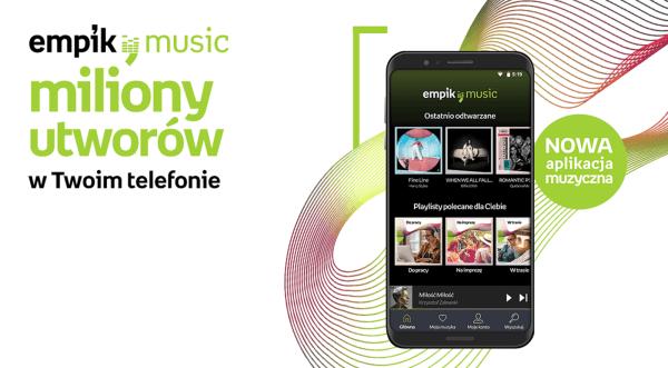 Empik Music to nowa usługa streamingowa w Polsce