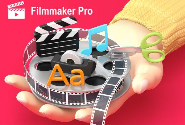 """Edytuj i montuj filmy w aplikacji do edycji filmów """"Filmmaker Pro"""""""