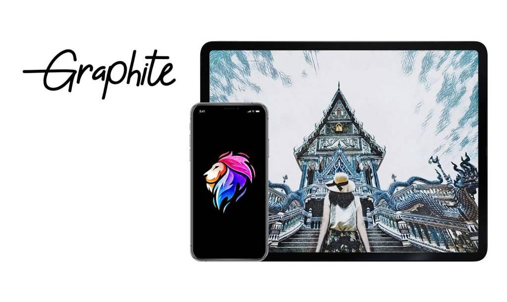 Aplikacja mobilna Graphite Sketchbook by BeCasso