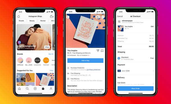 Facebook i Instagram wdrażają sklepy, które zamienią profile firm w witryny sklepowe