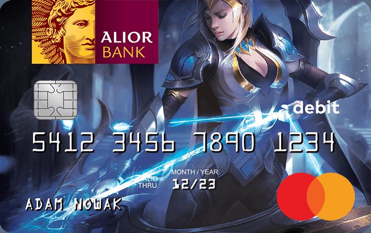 """Karta Alior Banku do Konta Jakże Osobistego dla graczy – Ashe z """"League of Legends"""""""