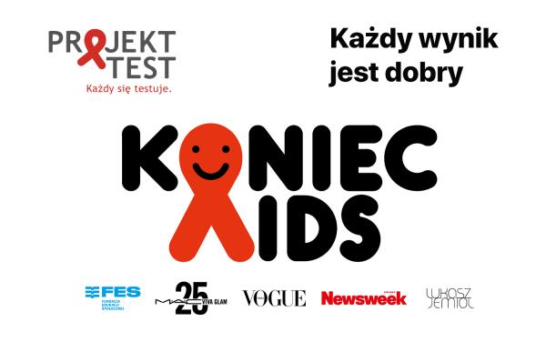 #KoniecAIDS – zrób test na HIV za darmo w domu!